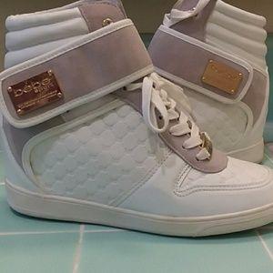 e454e64f597 bebe Shoes - Bebe Sport Colby Wedge Sneakers